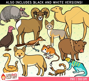 Desert Animals Clipart
