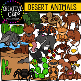 Desert Animals Clipart {Creative Clips Clipart}