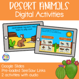 Desert Habitat and Animals - Digital Activities | Google S