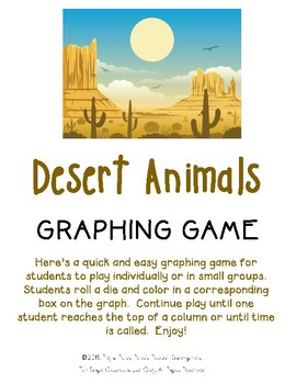 Desert Animals Graphing Game
