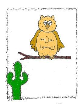 Desert Animals Logic Line Up - No Prep  Common Core Aligned