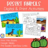 Desert Animals Mini Books