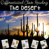 Desert Animals Nonfiction Close Reading with Differentiated Texts
