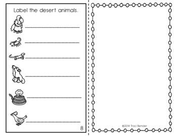 Desert Animals Reader
