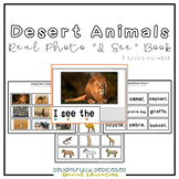 "Desert Animals Real Photo ""I See"" Book for Special Education Classrooms"
