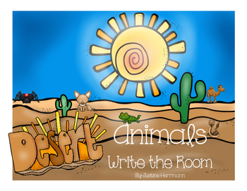 Desert Animals Write the Room