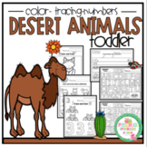"Desert Animals for Toddlers ""No Prep"""