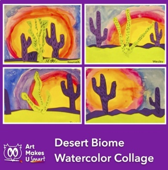 Desert Biome Art Lesson Powerpoint