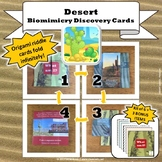 Desert Biome Biomimicry Discovery Cards Kit  NGSS 1-LS1-1