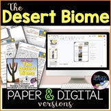 Desert Biome Differentiated Reading Comprehension Passages