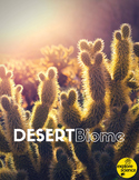 Desert Biome Activity Kit (Pre-K and K, NGSS & CC)
