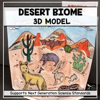 Desert Biome Model  - 3D