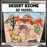 Desert Biome Model - 3D Model - Biome Project
