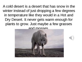 Desert Biome PowerPoint
