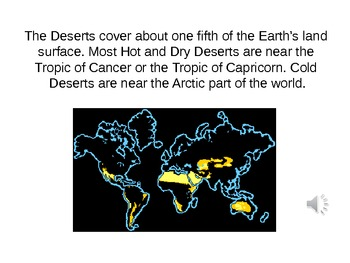 Desert Biome PowerPoint