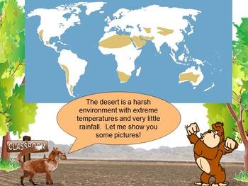 Desert Biome with Gordo and Laya