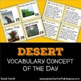 Desert Calendar Cards