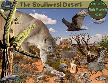 Desert Clip Art Animals & Plants Photo Clip Art Habitats Biomes