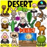 Desert Clip Art Bundle {Educlips Clipart}