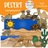 Desert Clip Art Color