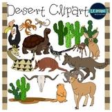 Desert Clipart {L.E. Designs}