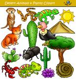 Desert Clipart Set - Desert Animals and Elements
