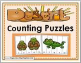 Desert Habitat Math - Number Puzzles 1-10