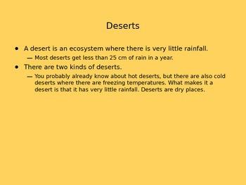 Desert Ecosystem