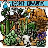 Desert Elements Clip Art - Chirp Graphics