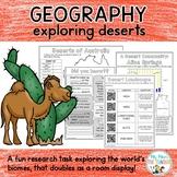 Geography: Desert Explorer