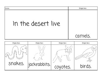 Desert Flip Book