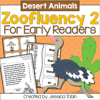 Desert Fluency for Early Readers- Zoofluency 2
