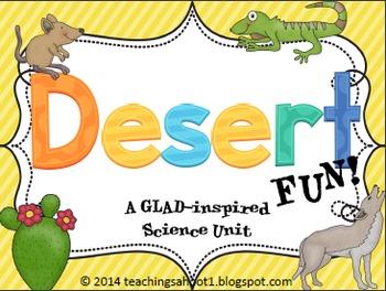Desert Fun - A Science Unit