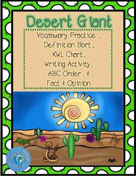 Desert Giant Vocabulary Practice