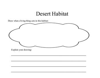 Desert Habitat Book