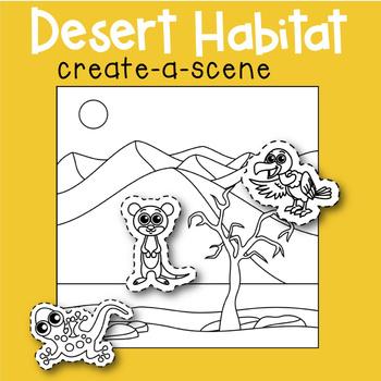 Desert Habitat Create-a-Scene