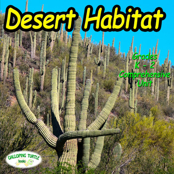 Desert Habitat (Desert Biome) - Comprehensive Unit