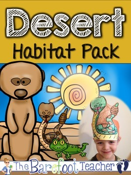 Desert Habitat Pack - 170 pgs. of Non-Fiction Desert Fun!