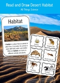 Desert Habitat Read and Draw