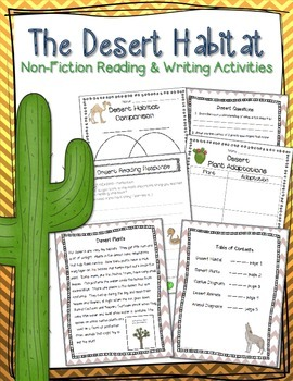 Desert Habitat Informational Unit
