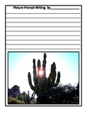 Desert Habitat Writing Picture Prompt Printables