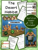 Desert Habitats Unit Common Core Aligned with Craftivities
