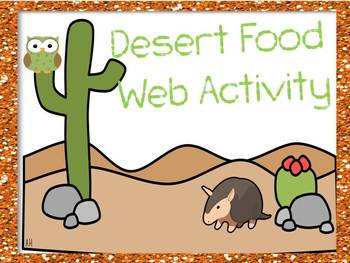 "Desert ""Human"" Food Web"