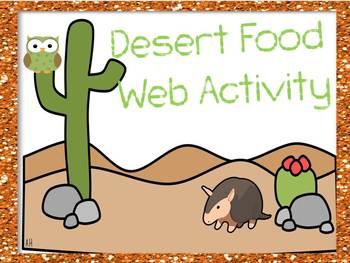 "Desert ""Human"" Food Web"