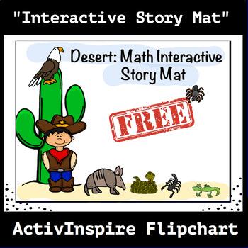 Desert: Interactive Math Story Mat, Activinspire Flipchart