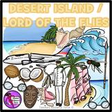 Desert Island / Lord of the Flies clip art