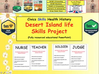 Desert Island life skills Project Exercise
