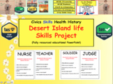 Desert Island life skills Project Exercise