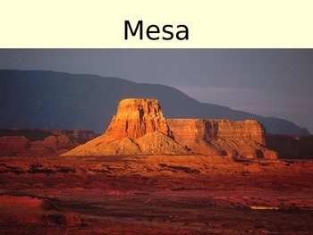 Desert Landforms - Geography