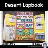 Desert Lapbook for Early Learners - Animal Habitats